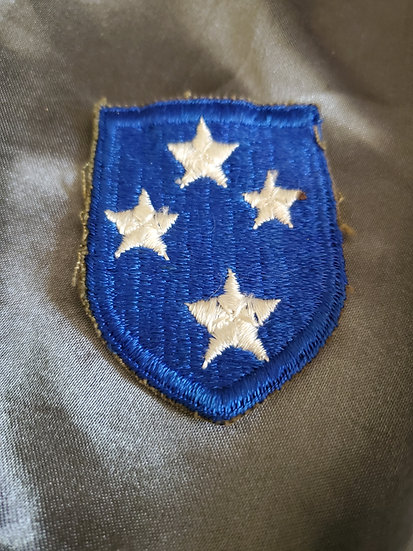 WWII GREEN EDGE AMERICAL PATCH