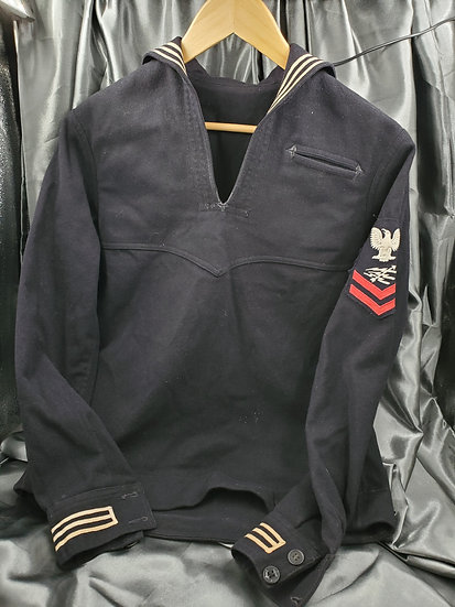 WWII US NAVY RADARMAN WOOL JUMPER