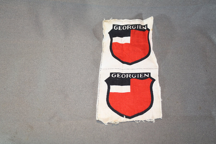 WWII German Volunteer Georgian Badge