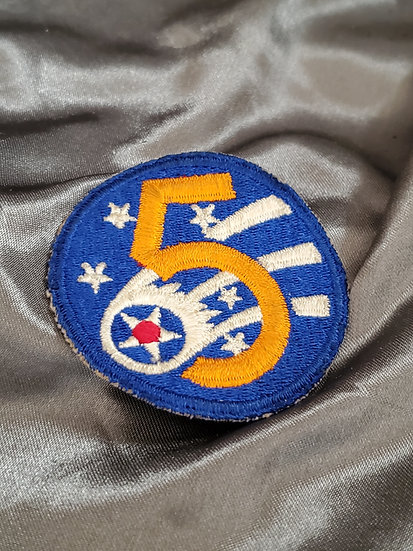 WWII 5TH AIRFORCE PATCH