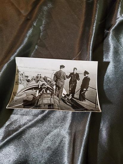 WWII GERMAN PHOTO - KRIEGSMARINE