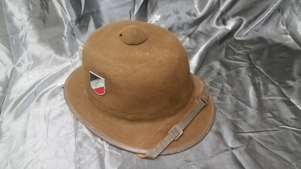 WWII GERMAN TROPICAL PITH HELMET SECOND PATTERN