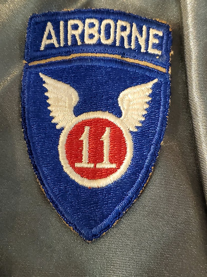 WWII 11TH AIRBORNE DIVISION PATCH