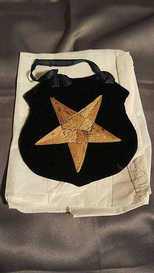WWII VELVET STAR SHIELD