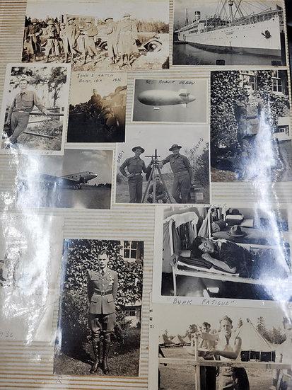 PRE-WWII 4TH ID PHOTO ALBUM