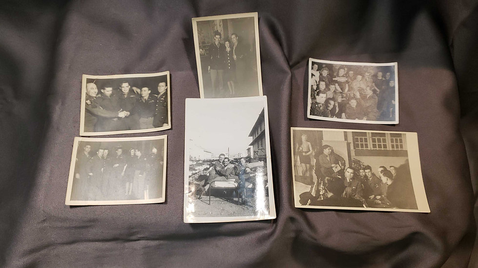 WWII PHOTO GROUPING