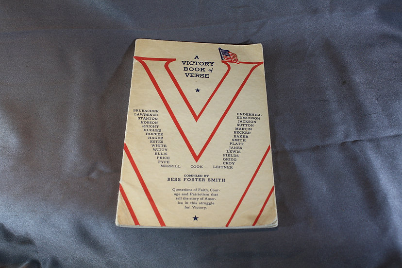 WWII A Victory Book of Verse