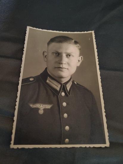 WWII GERMAN SOLDIER PORTRAIT