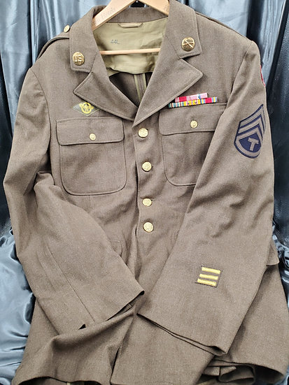 WWII US ENLISTED CLASS A JACKET 44L