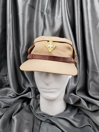 WWII CANADIAN WOMENS AUXILIARY CORPS VISOR CAP