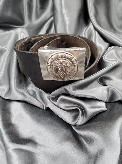 WWII GERMAN HITLER YOUTH BELT & BUCKLE