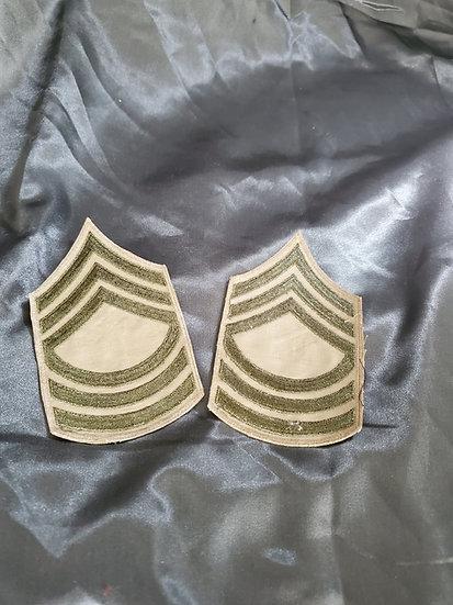 WWII MASTER SERGEANT RANK