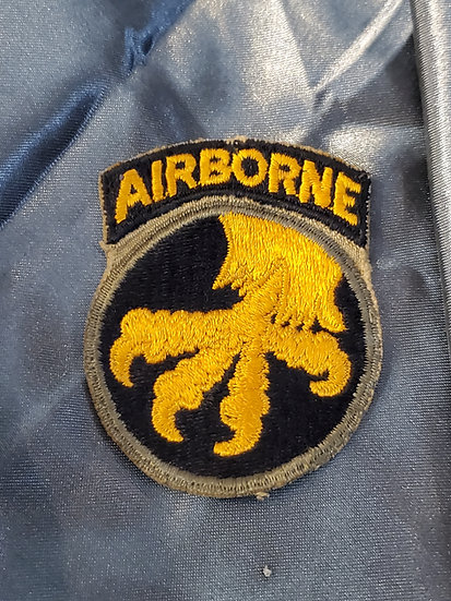 WWII US 17TH AIRBORNE PATCH