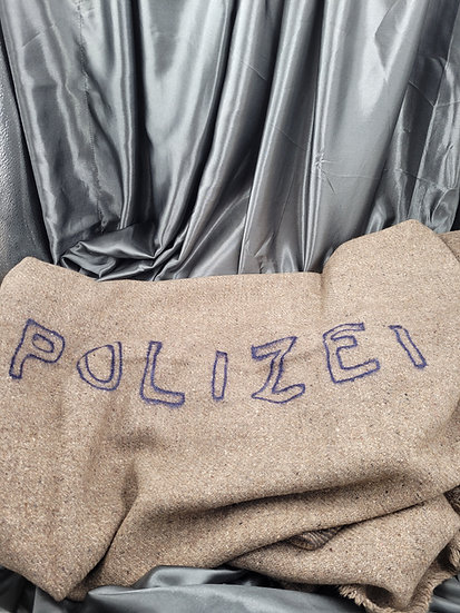 WWII GERMAN POLIZEI BLANKET