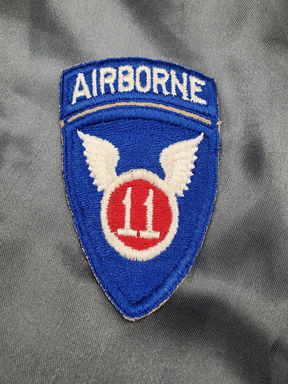 US 11TH AIRBORNE PATCH WITH TAB
