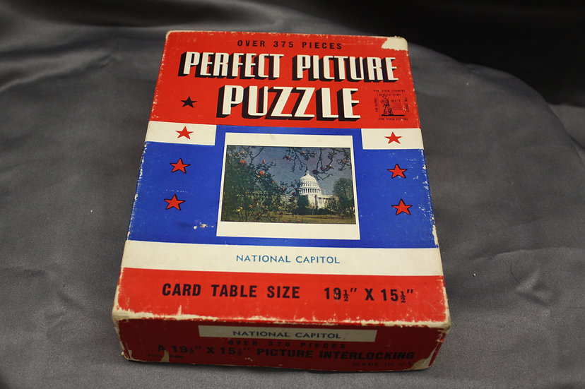 WWII Era Puzzle of the Capitol