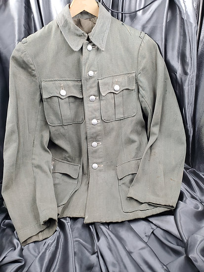 WWII GERMAN GENDARMERIE SUMMER TUNIC