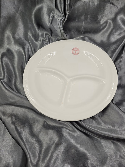 WWII MEDICAL DEPARTMENT DINNER PLATE