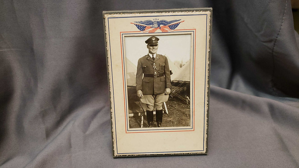1920's Era US Army Officer Photo