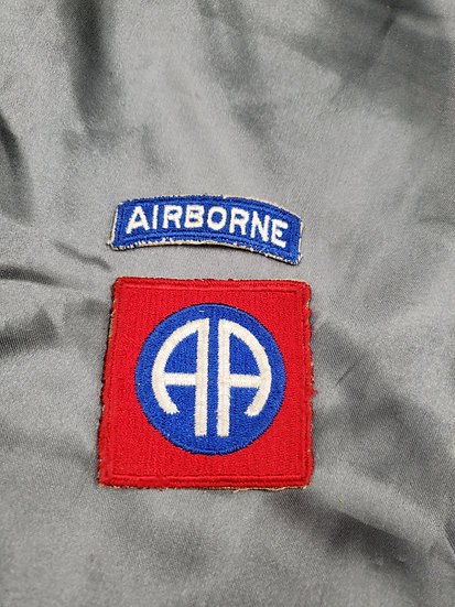 WWII 82ND AIRBORNE PATCH