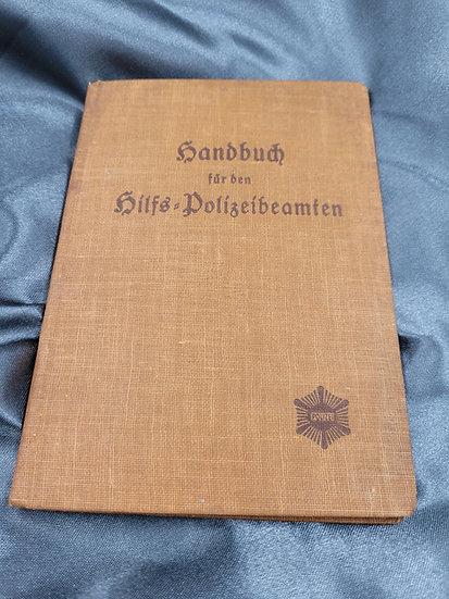 WWII GERMAN POLIZEI HANDBOOK