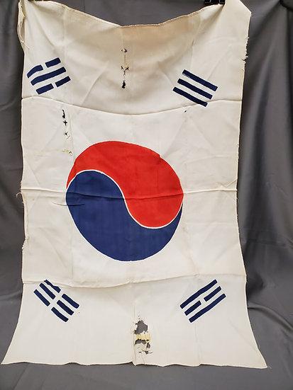 1940's Silk Korean Flag