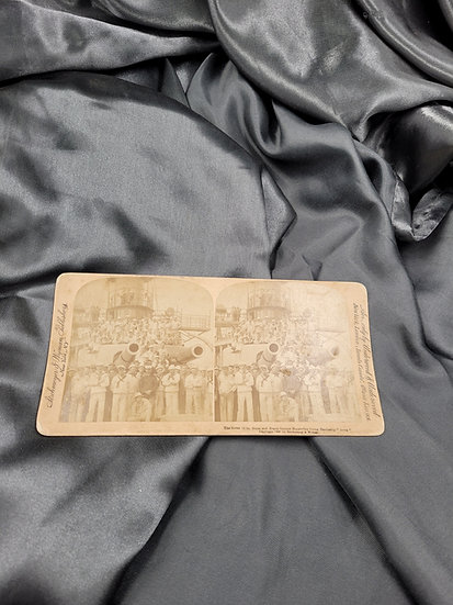 WWI STEREOSCOPE CARD