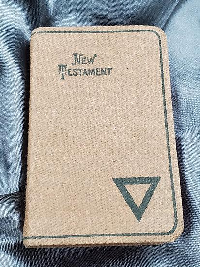 WWI OR INTERWAR YMCA NEW TESTAMENT