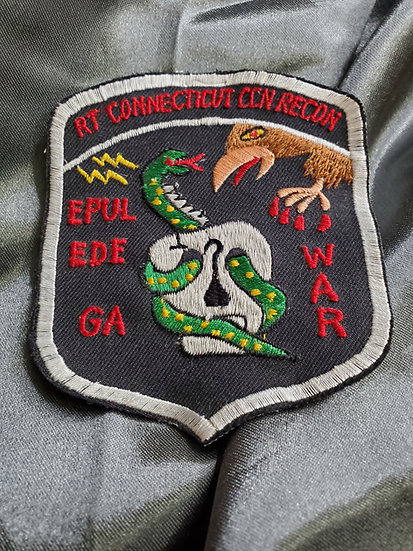 VIETNAM RT CONNECTICUT CCN RECON PATCH