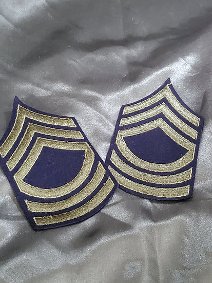 WWII US MASTER SERGEANT STRIPES