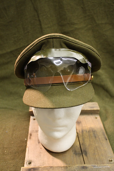 Reproduction WWII US British Service Cap with Goggles