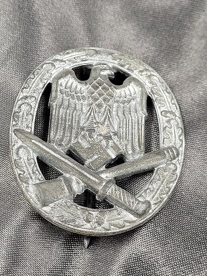 WWII GERMAN GENERAL ASSAULT BADGE