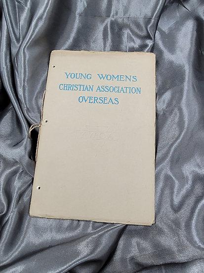 BOOK - YOUNG WOMEN'S CHRISTIAN ASSOCIATION OVERSEAS