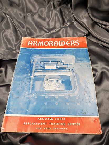 WWII FORT KNOX ARMORAIDERS TANKER TRAINING BROCHURE