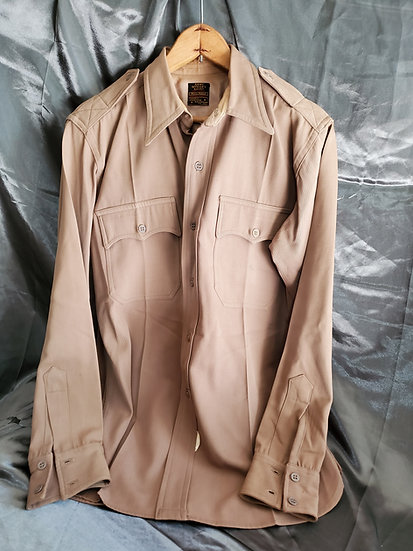WWII US ARMY OFFICER PINK SHIRT