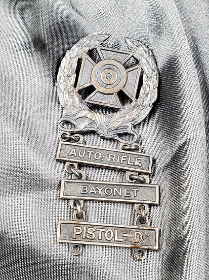 WWII ARMY QUALIFICATION BADGE