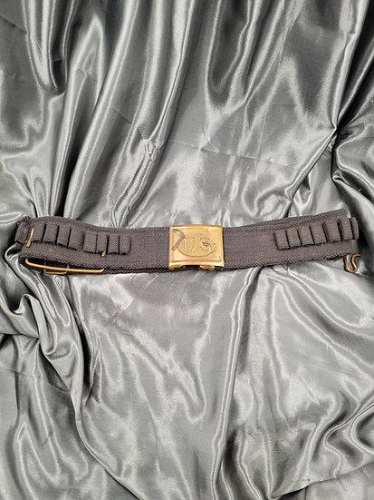 US ARMY MODEL 1892 CARTRIDGE BELT