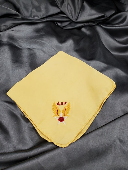 WWII US ARMY AIR FORCE HANDKERCHIEF