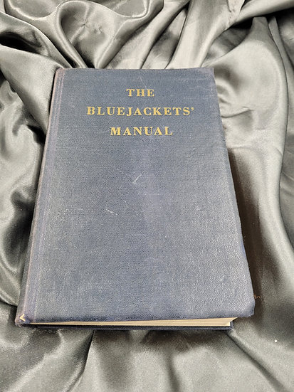 KOREAN WAR ERA BLUE JACKET MANUAL