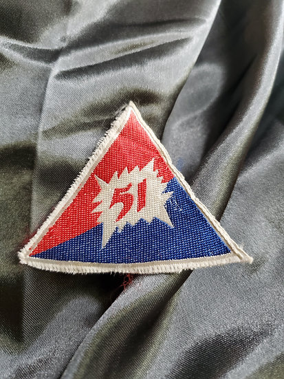 VIETNAM 2ND BATALLION 51ST REGIMENT PATCH