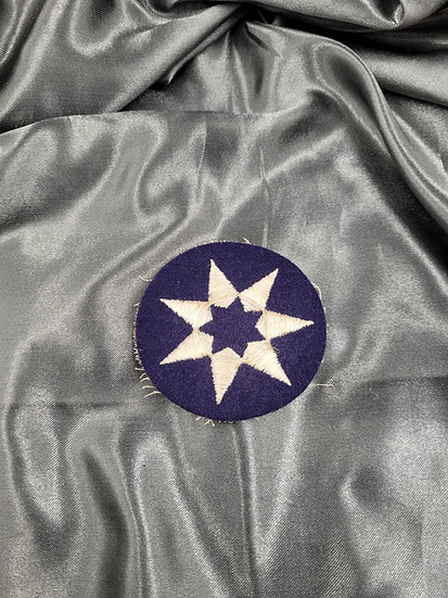 WWII FELT 7TH SERVICE COMMAND PATCH