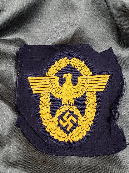 WWII WASSER SCHULTZ POLIZEI BADGE