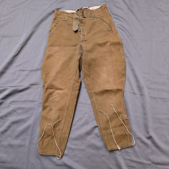 WWII GERMAN TROPICAL BREECHES