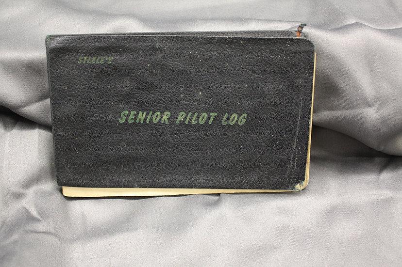 WWII Senior Pilot Log