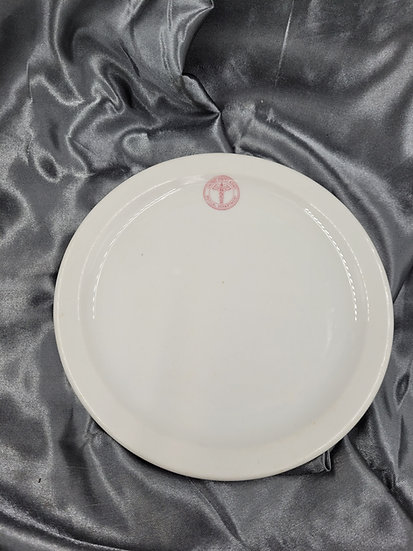 WWII US MEDICAL DEPARTMENT DESERT PLATE