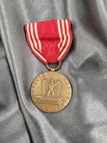 WWII US NAMED GOOD CONDUCT MEDAL