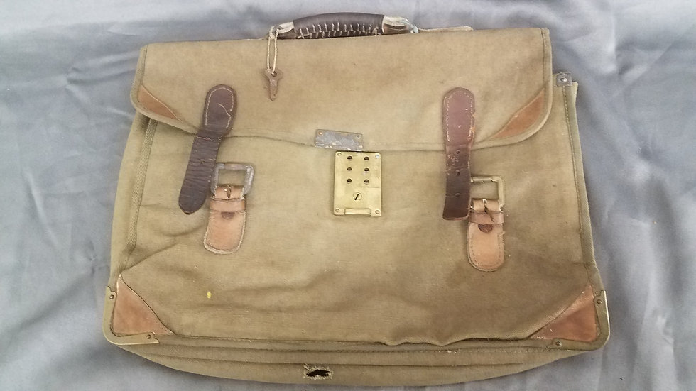 WWII JAPANESE DOCUMENTS BRIEF CASE