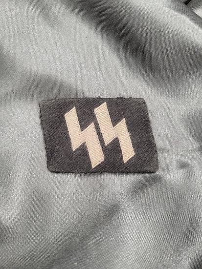WWII GERMAN SS NCO COLLAR TAB