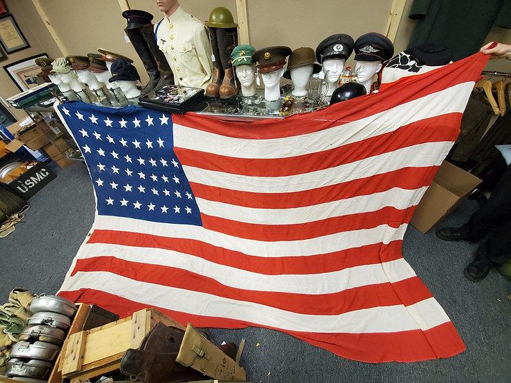 SPANISH AMERICAN/PHILLIPINES INSURRECTION 45 STARS FLAG