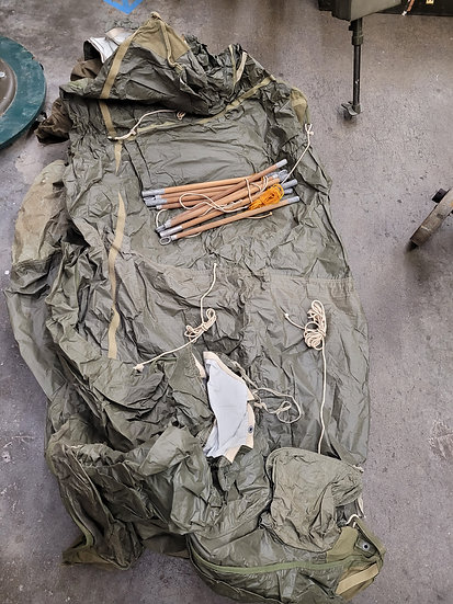 WWII MOUNTAIN TROOPS TENT